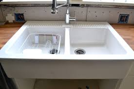 domsjo double bowl sink how to cleaning apron sink cdbossington interior design