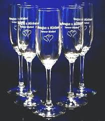 personalized glasses wedding engraved wine glasses for wedding favors engraved flutes cheap