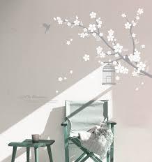 wall decals hiimaanimalhotra cherry blossom grey white pearlwhite
