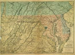 Maryland Virginia Map by Welcome To Historynyc Historical Maps Poster Books And Custom