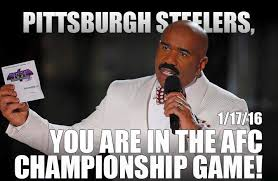 Steelers Meme - steve harvey reveals steelers fate