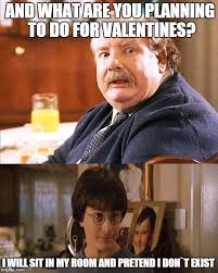 Harry Potter Valentines Meme - happy valentine s day to those who are doing something romantic