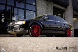 audi a4 2017 black a4 savini wheels