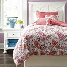 Ashley Furniture Trundle Bed Twin Buy Ashley Furniture Crinkle Pleat Pink Twin Comforter Set