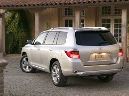 toyota products and prices toyota highlander 2008 pictures information u0026 specs
