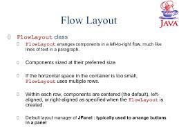 java null layout manager swing java swing