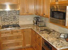 pictures of kitchen backsplashes with granite countertops backsplashes for kitchens with granite countertops subway mosaic