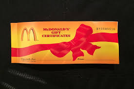 mcdonalds gift card discount do you think my mcdonald s coupon book is worth thousands