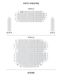 arts theatre seating plan londontheatre co uk