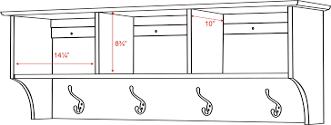 Mudroom Dimensions 100 Entryway Shelf Entryway Shelf With Cubbies And Coat