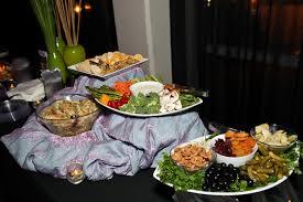 d raisser cuisine char don catering created a buffet of light hors d oeuvres ronald