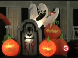 Inflatable Halloween Decorations Animated Airblown Inflatable Skeleton Train Inflatable Halloween