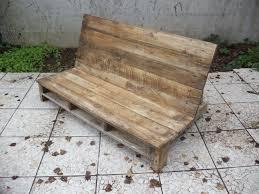 fabrication canapé en palette fabriquer un canapé de jardin en palette david mercereau