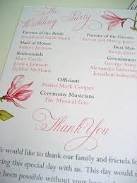 flat wedding programs 80 best wedding programs images on wedding programs