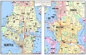 Seattle Monorail Map by Map Seattle Chicago Map