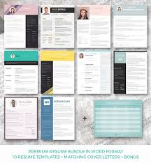 Resume Templates Word Format 28 Minimal U0026 Creative Resume Templates Psd Word U0026 Ai Free