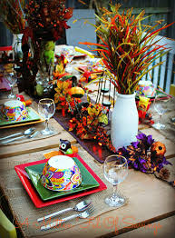 Thanksgiving Table Decor Ideas by Outside Fall Thanksgiving Table Decor Idea Table Decor Ideas