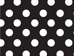 black wrapping paper 1 x black white polka dot gift wrap wrapping paper