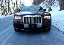 rolls royce front rolls royce ghost series ii lookback business insider