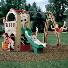backyard playground slides backyard playsets slides creating a