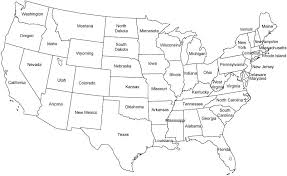 map usa states template printable map of the usa mr printables printable map of states in