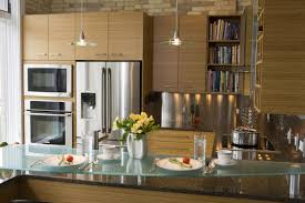 Bamboo Kitchen Cabinets by Modern Kitchen Cabinets Chicago Tehranway Decoration