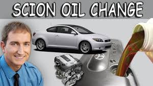 how to change oil toyota scion tc youtube