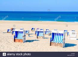 wicker beach chairs westerland sylt stock photos u0026 wicker beach