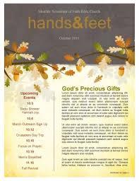 fall leaves easy church newsletter template template newsletter