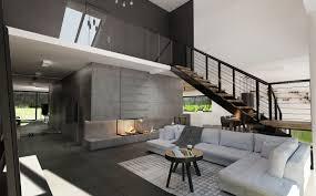 parter domu z otwartym salonem freelancers 3d