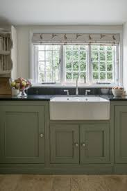 Handmade Kitchen Cabinets by Walnut Wood Harvest Gold Shaker Door Sage Green Kitchen Cabinets