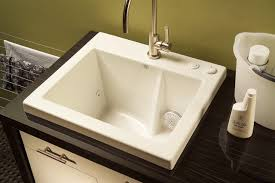 Laundry Room Tub Befon For Intended Drop In Utility Sink Design 19