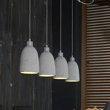 Exklusive Esszimmerlampen Beton Hängleuchte Im Loft Design 4 Flammig Jetzt Bestellen Unter