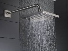 Moen Eco Performance Shower Head Bathroom Cool Grey Tile Wall Design With Moen Shower Head Ideas