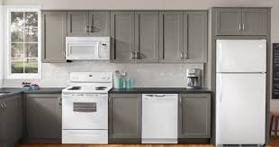 how to decorate kitchen cabinets beautiful kitchen decorating with white appliances and grey cabinets