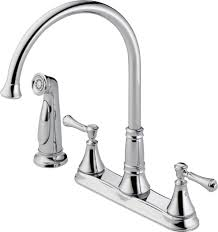 Two Hole Kitchen Faucet by Black Kitchen Faucets Delta Bronze Kitchen Faucet Delta Kitchen
