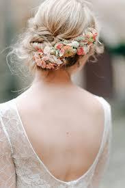 wedding flower hair 38 gorgeous wedding hairstyles with fresh flowers weddingomania