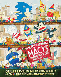 sega see sonic in the macy s thanksgiving day parade