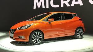 nissan micra car images video 2017 nissan micra at the paris motor show