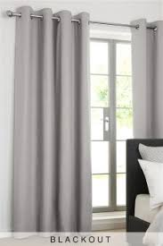 Black And Grey Curtains Buy Curtains And Blinds Curtains Grey Black Out Blackout From The