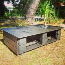 Table De Jardin En Palette by Indogate Com Table Salon Ardoise