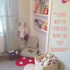 v i bedroom clever ways to store kids books in tiny bedrooms