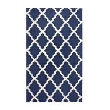 Area Rugs Usa Rugs Usa Moroccan Trellis 5 X 8 Navy Blue Area Rug Polyvore