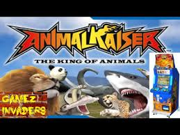 animal kaiser king of the animals arcade with trading cards