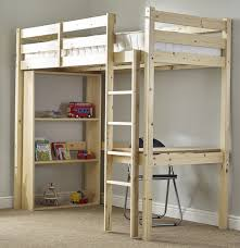 Study Bunk Bed Frame With Futon Chair Study Bunk Bed 3ft Single Work Station Bunkbed With Table Chair