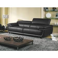canapé cuir noir 3 places canapé cuir 3 places baya la maison du canapé pas cher à prix auchan