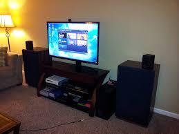 Livingroom Set Up My Setup From Living Room And Bedroom Image L1hbsml Jpg Loversiq