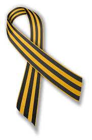 black and yellow ribbon file ribbon of george svg wikimedia commons