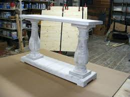 Safavieh American Home Collection Distressed White Washed Console Table Safavieh American Home