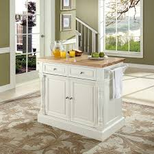 Furniture Kitchen Islands Shop Crosley Furniture White Craftsman Kitchen Island At Lowes Com